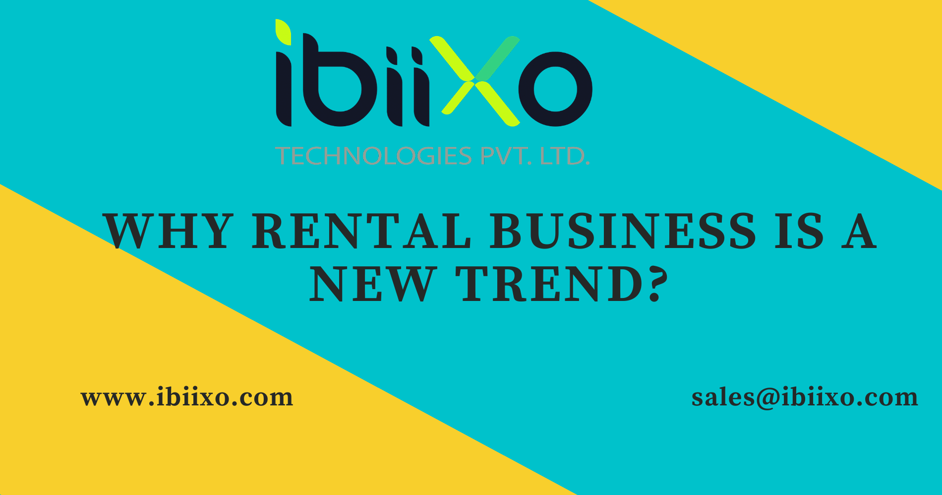 Rental Business Ideas